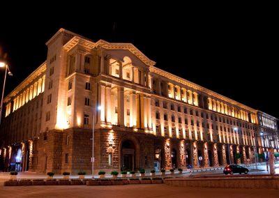 Художествено осветление на Президентсвото на република България