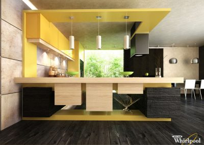 Whirlpool kitchen design project (awarded)