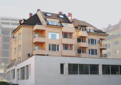 Жилищен блок в квартал Студентски град