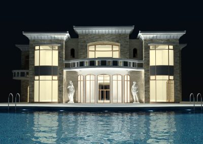 Competition project for a residence by the seaside in Sunny Beach