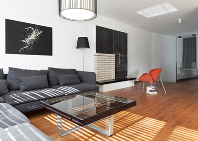 Interior design and implementation of an apartment in Buxton